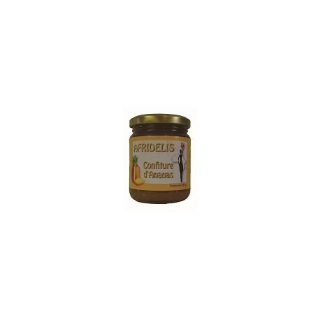 AFRIDELIS Confiture Ananas 250g