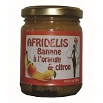 AFRIDELIS  Banane à l'Orange 250g