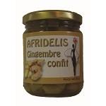 AFRIDELIS Confit Gingembre 250g