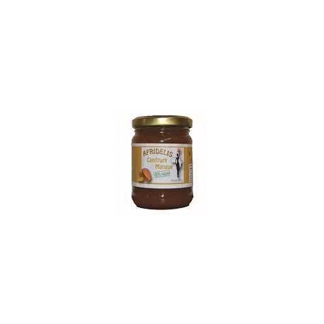 AFRIDELIS Confiture Mangue 250g