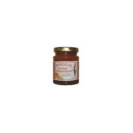 AFRIDELIS Chutney Mangue Papaye 120g